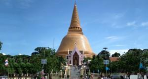 Чеди Пхра Патхом в Таиланде
