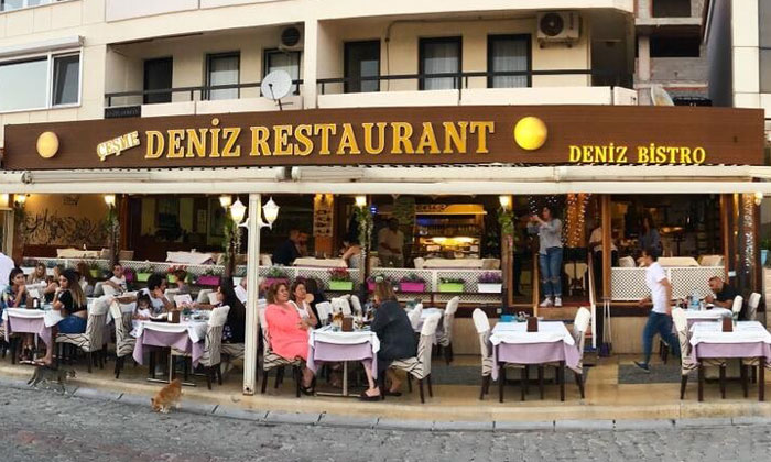 Ресторан «Deniz» в Чешме