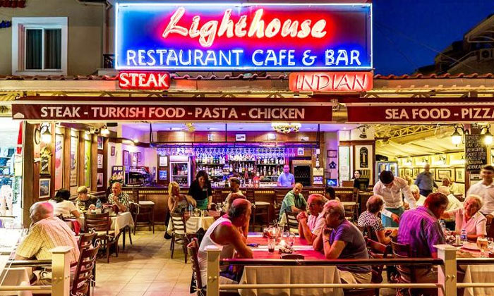 Ресторан «Lighthouse» в Мармарисе
