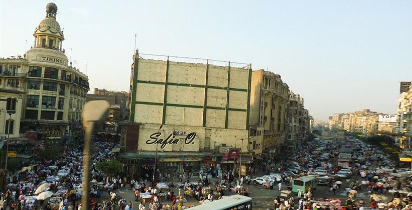 Шоппинг в Каире (площадь Ataba)