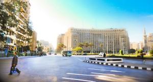 Площадь Мидан Тахрир в Каире