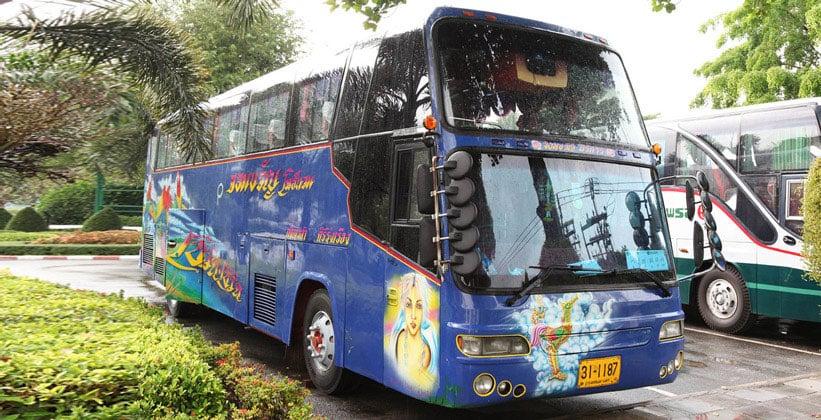 Туристические автобусы Паттайи
