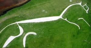 Уффингтонская белая лошадь в Англии