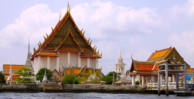 Храм Колоколов (Ват Ракханг) в Бангкоке