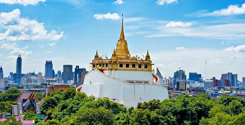 Храм Ват Сакет (Золотая гора Бангкока)