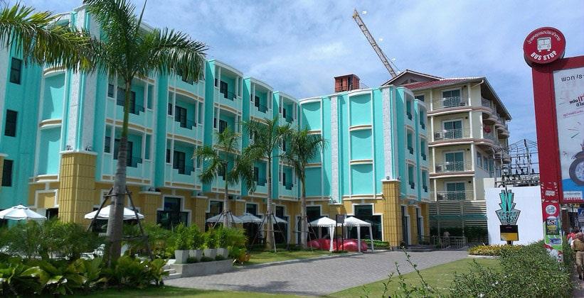 Отель Wave в Паттайе
