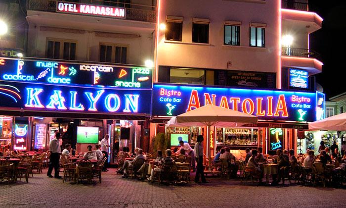 Заведения «Kalyon» и «Anatolia» в Мармарисе