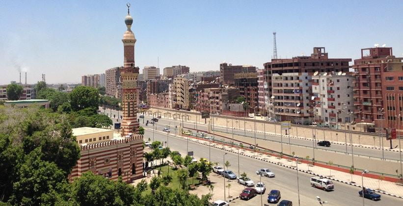 Город Асьют в Египте