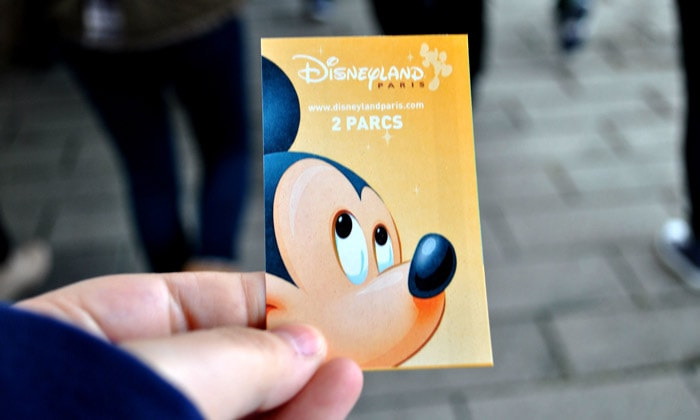 Билет в Диснейленд Парижа