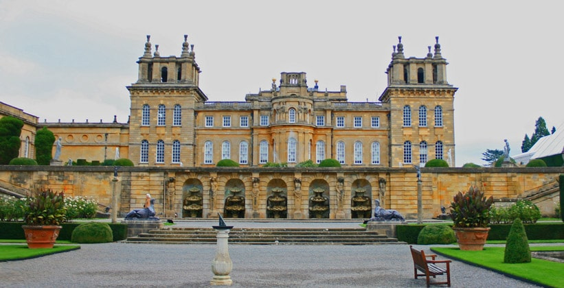 Дворец Бленхейм в Англии