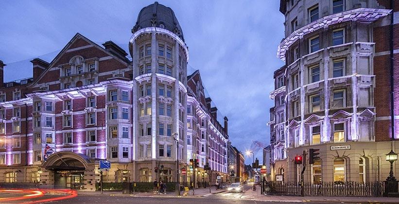 Улица Блумсбери в Лондоне