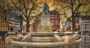 Лестер-сквер в Лондоне