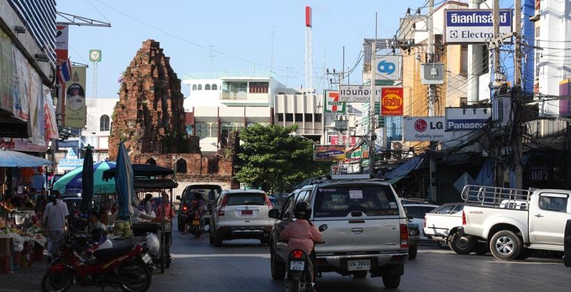 Город Лопбури в Таиланде