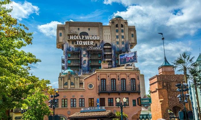 Аттракцион «Отель голливудская башня» в Диснейленде Парижа