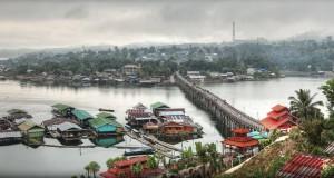 Таиландский город Сангклабури