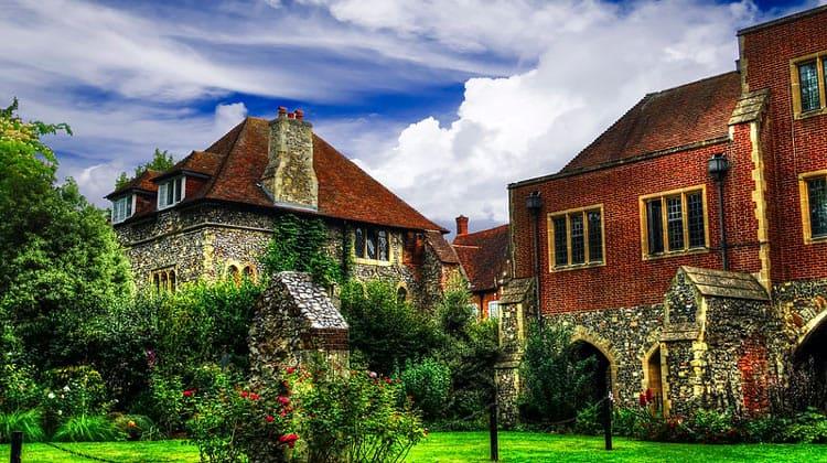 Старые дома Кентербери