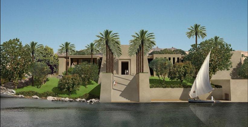 Остров Амона в Египте