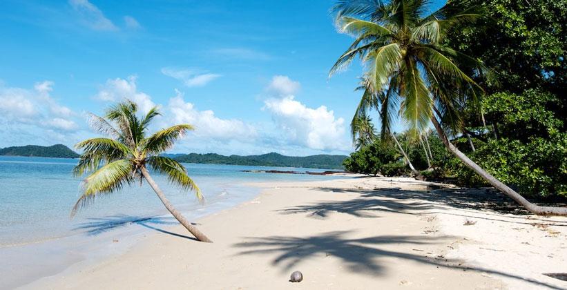 Пляж Ао Као на острове Ко Мак