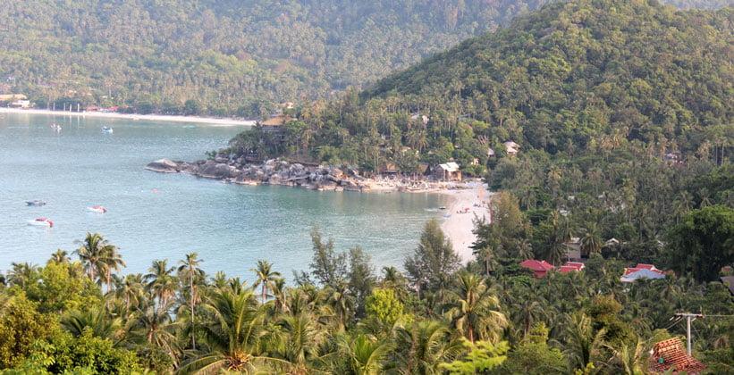 Пляж Ао Тхонг Найпан Ной на острове Ко Пханган