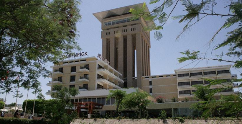 Отель Movenpick в Асуане