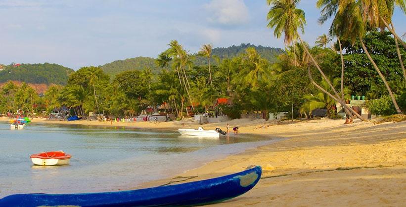 Пляж Банграк на острове Ко Самуи