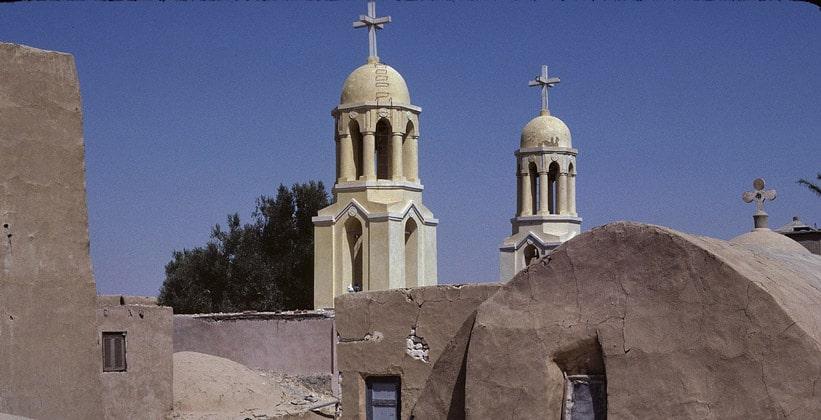 Монастырь Дейр эль-Барамус в Египте