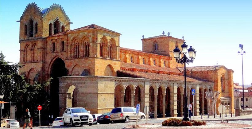 Базилика Сан-Висенте в городе Авила