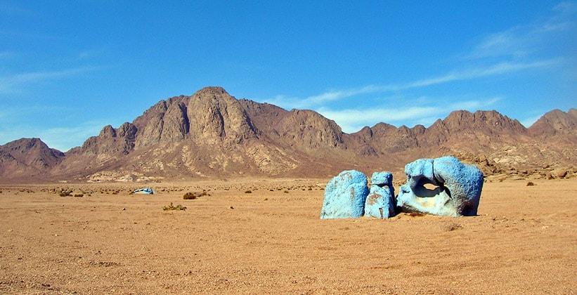 Голубая долина в Египте
