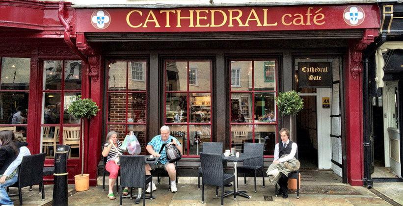 Кафе Cathedral в городе Кентербери