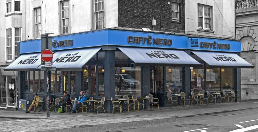 Кафе Nero в городе Брайтон