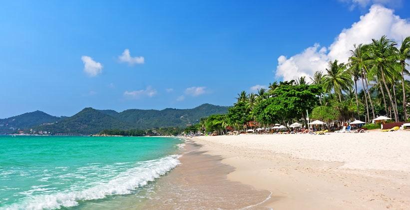 Пляж Чавенг на острове Ко Самуи