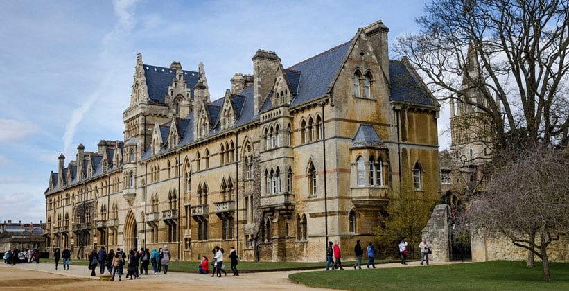 Колледж Крайст-Черч в Оксфорде