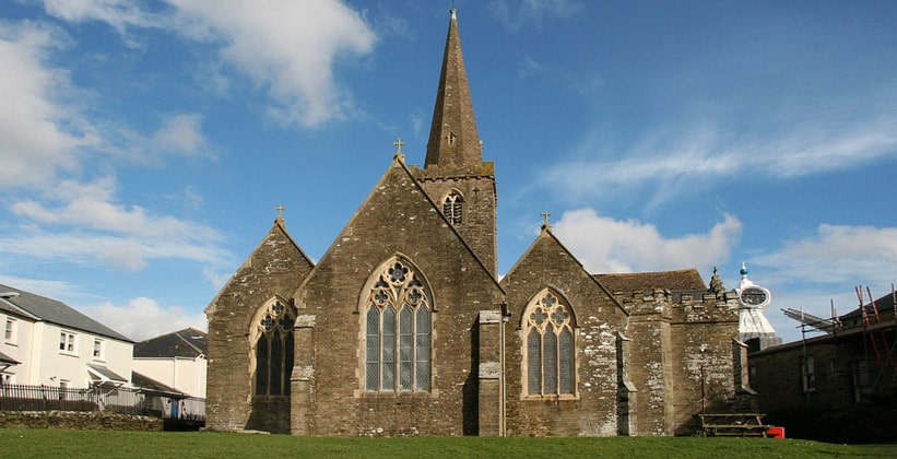 Церковь Святого Эдмунда в городке Кингсбридж