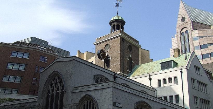 Церковь Святого Олафа в Лондоне