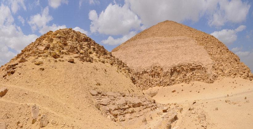 Пирамиды в Дашуре
