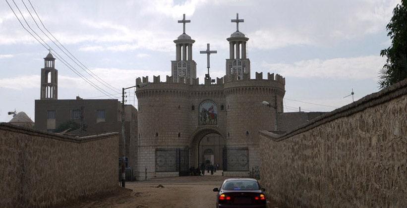 Монастырь Burnt в Асьюте