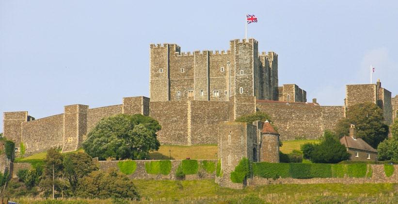 Дуврский замок в Англии