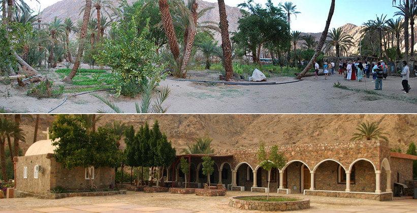 Оазис Фейран в Египте