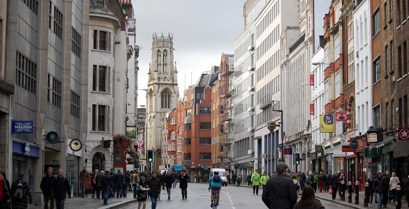 Улица Флит в Лондоне