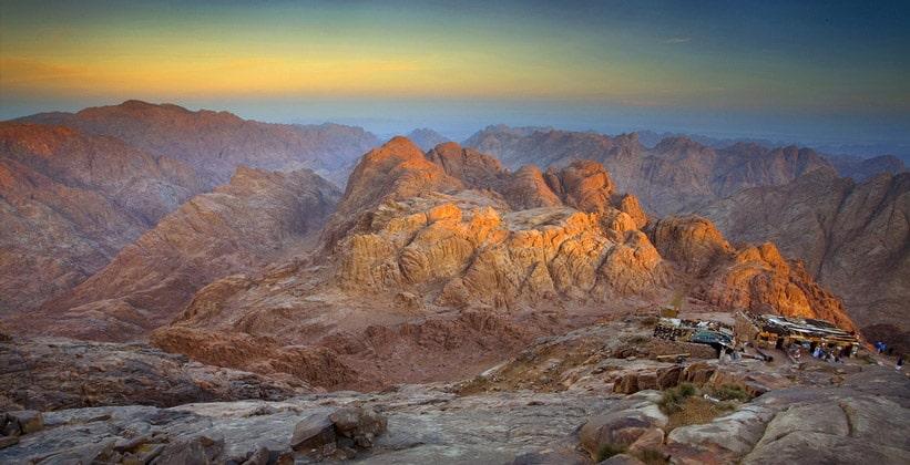 Скалистая местность Синайского полуострова