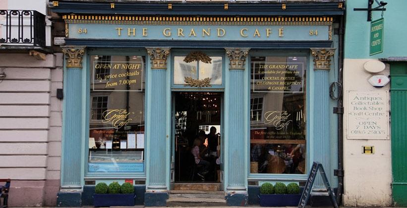 Кафе The Grand в Оксфорде