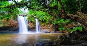 Водопад Хэу Суват в Национальном парке Кхао Яй