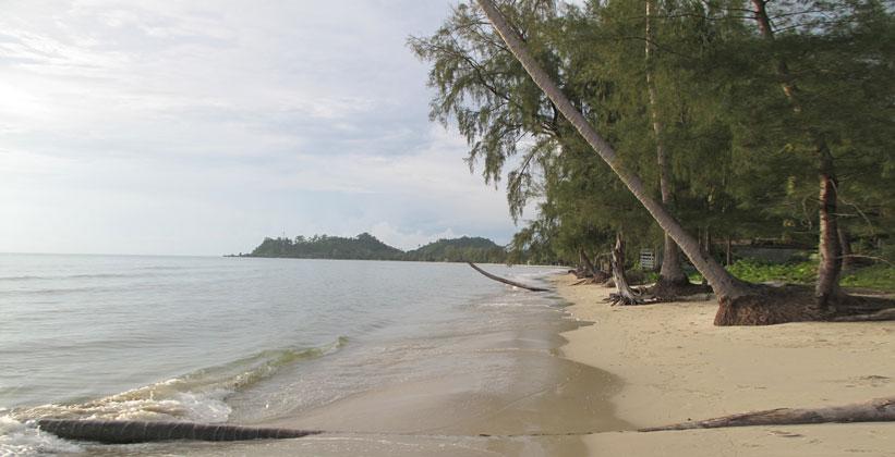 Пляж Хат Кхлонг Пхрао на острове Ко Чанг