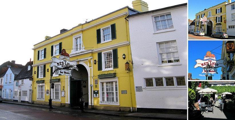 Отель Red Lion в Солсбери (Англия)