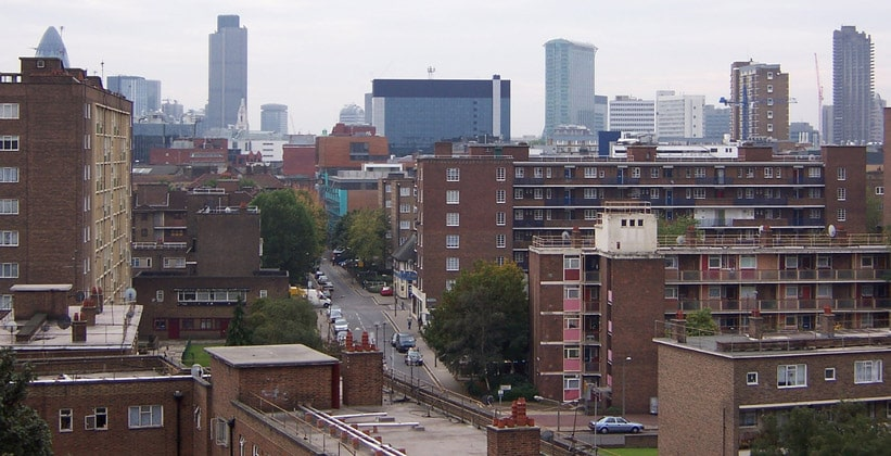 Район Хокстон в Лондоне