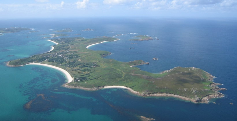 Остров Сент-Мартинс в Англии
