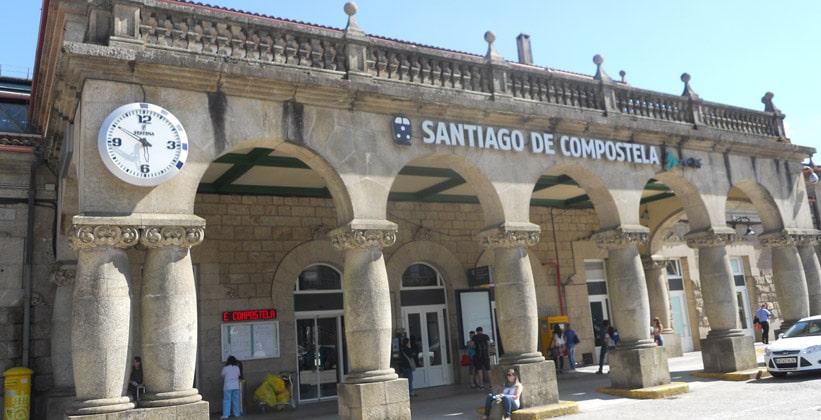 Железнодорожный вокзал Сантьяго-де-Компостела