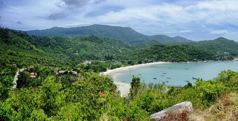 Остров Ко Пханган в Таиланде