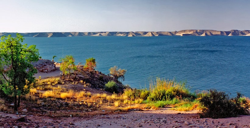 Озеро Насер в Египте