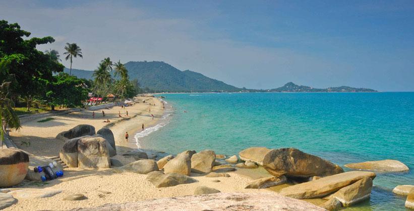 Пляж Ламай на острове Ко Самуи